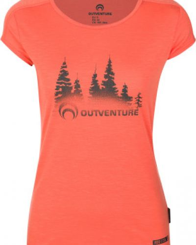 Спортивная футболка прямая легкая Outventure