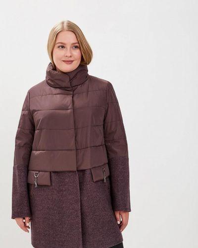 Коричневая куртка осенняя Kr