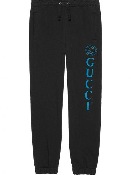 Bawełna bawełna czarny majtki elastyczny Gucci
