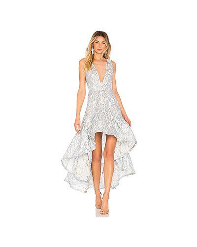 Вечернее платье из парчи сетчатое Bronx And Banco