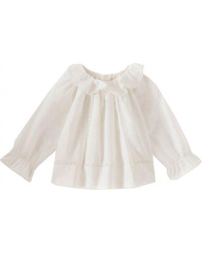 Белая блузка Bonpoint