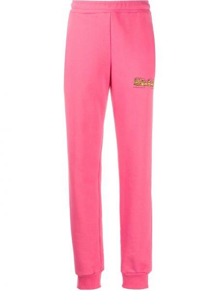 Спортивные брюки розовый с поясом Misbhv