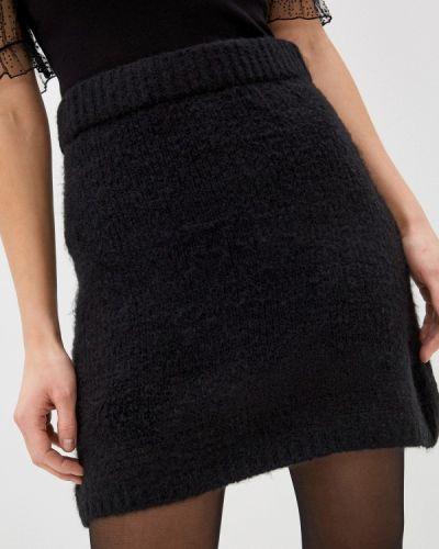 Черная прямая юбка карандаш By Swan
