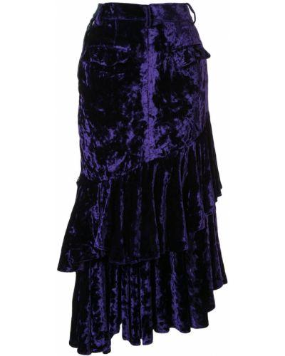 Джинсовая юбка - синяя Facetasm