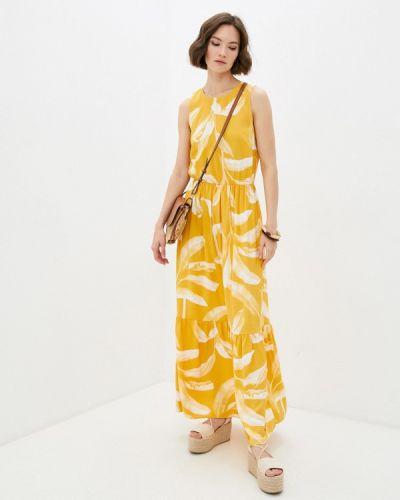 Повседневное желтое платье Mark Formelle