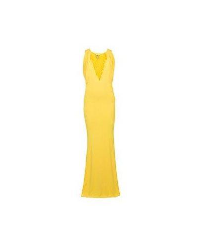 Вечернее платье - желтое Class Cavalli