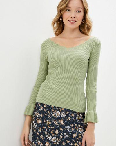 Зеленый пуловер Trendyol
