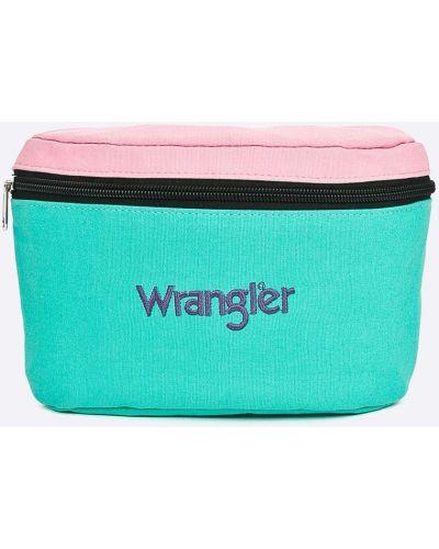 Зеленая текстильная сумка Wrangler