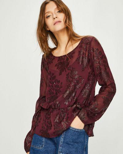 Блузка прямая с кокеткой Vila