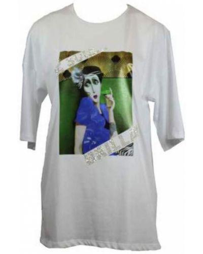 T-shirt bawełniany z printem Les Bourdelles Des Garcons