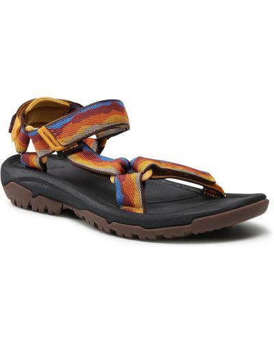 Żółte sandały na lato Teva