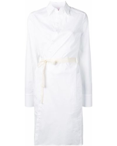 Платье макси длинное - белое A.f.vandevorst