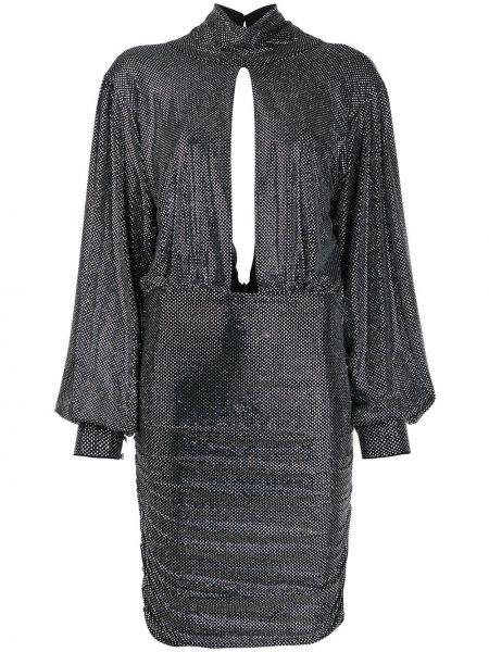 Облегающее открытое платье макси с открытой спиной Philipp Plein