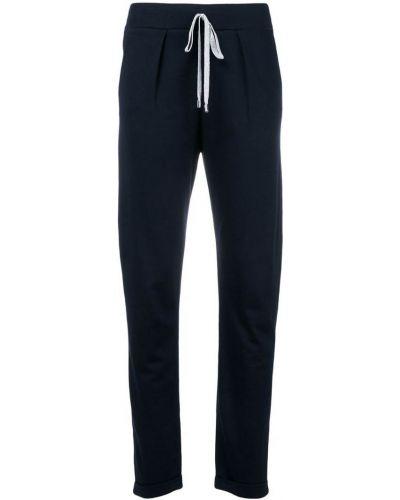 Спортивные брюки синие Blanca