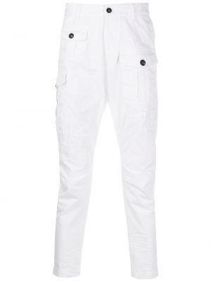 Przycięte spodnie, biały Dsquared2