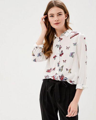 Белая блузка Springfield