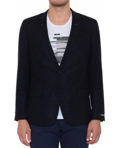 Пиджак шерстяной из вискозы Lagerfeld