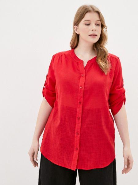 Блузка весенний красная Gabriela