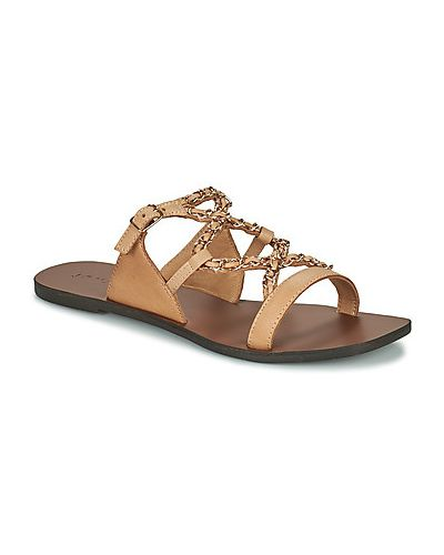 Beżowe sandały Jonak