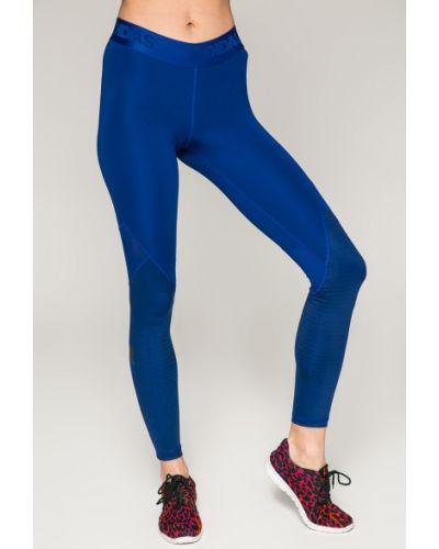 Синие брюки на резинке Adidas Performance