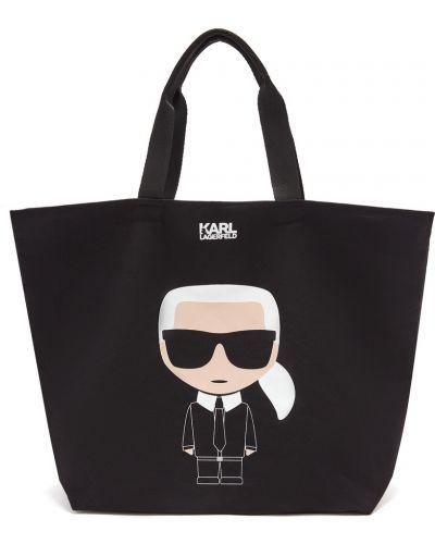 Сумка шоппер большая с ручками Karl Lagerfeld