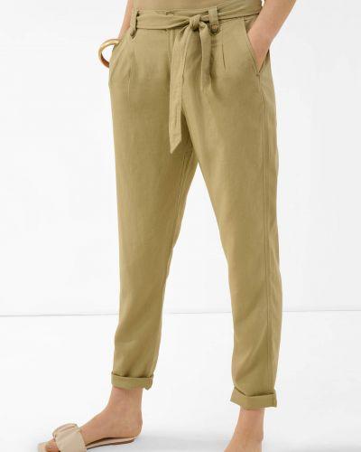 Zielone spodnie materiałowe Orsay