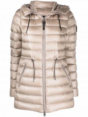 Бежевое пальто с карманами Mackage