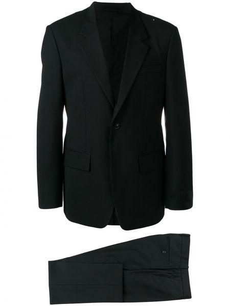 Шерстяной черный костюмный костюм деловой на пуговицах Maison Martin Margiela Pre-owned