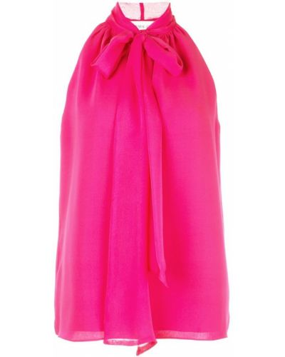 Блузка без рукавов розовая Prabal Gurung