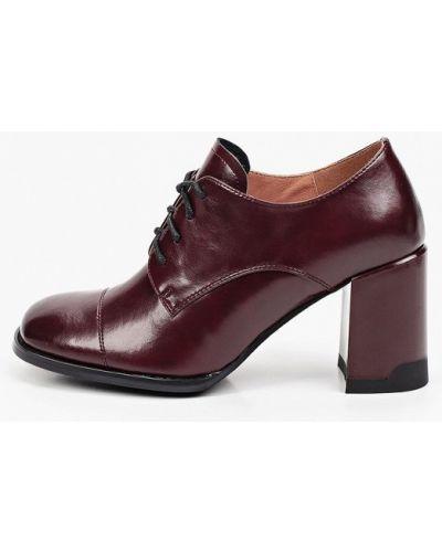 Бордовые резиновые ботинки Francesco Donni