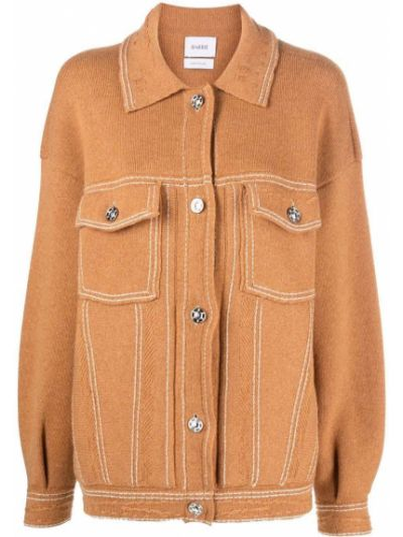 Pomarańczowa kurtka bawełniana Barrie