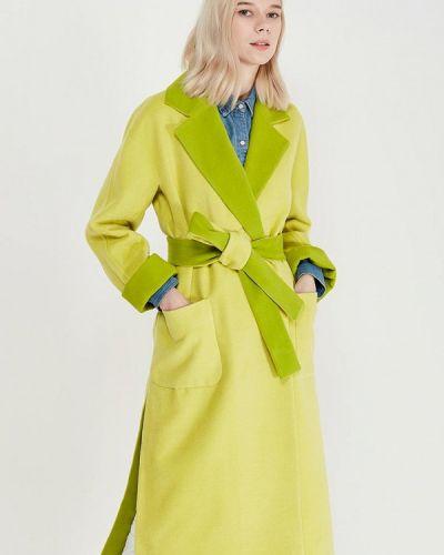 Желтое пальто Grand Style