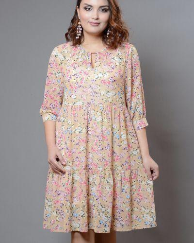 Летнее платье с цветочным принтом платье-сарафан Avigal (avrora)