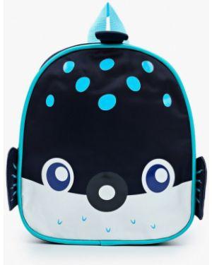 Рюкзак синий текстильный Vitacci