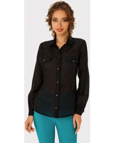 Блузка с длинным рукавом черная Anushka By Anna Pavlova