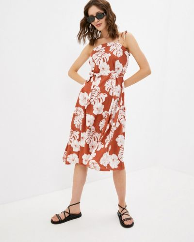 Коричневое платье Roxy