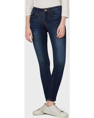 Зауженные джинсы - синие Tom Tailor