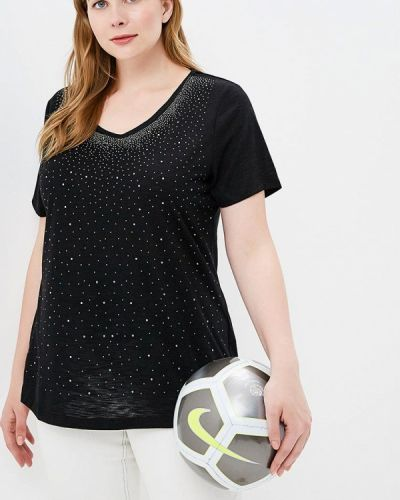 Футбольная черная футболка Rosa Thea