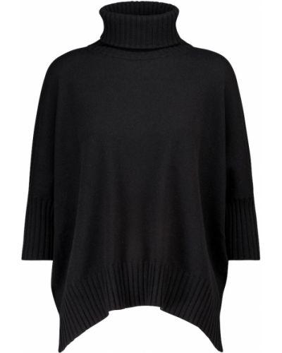 Мягкий черный кашемировый свитер Dorothee Schumacher
