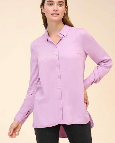 Bluzka asymetryczna - fioletowa Orsay