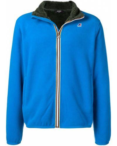 Синяя куртка K-way