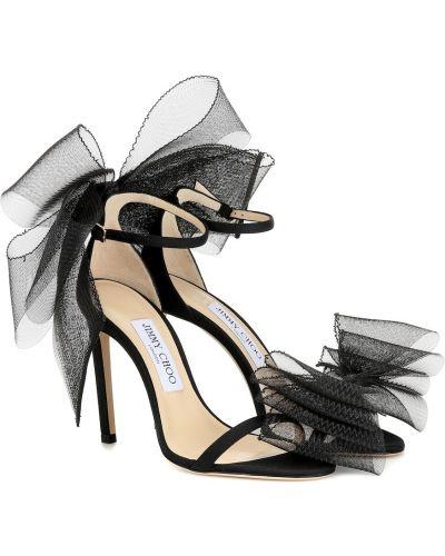 Черные сандалии Jimmy Choo