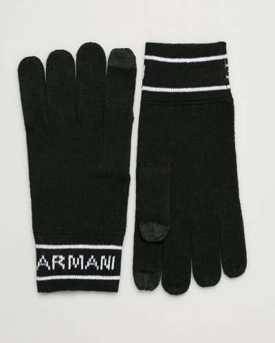 Перчатки трикотажные текстильные Armani Exchange