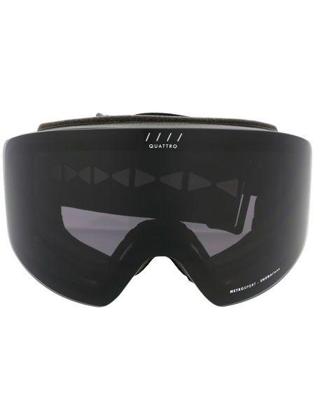 Czarne okulary oversize Snob