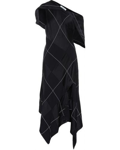 Платье миди через плечо классическое Monse