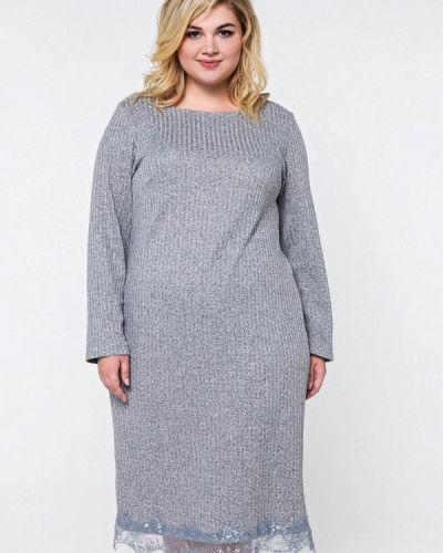 Платье миди - серое Matilda