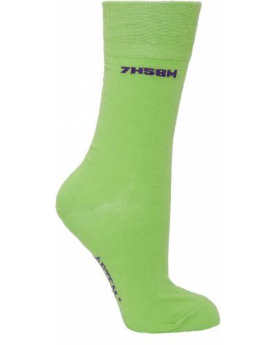 Зеленые носки с логотипом Artem Krivda
