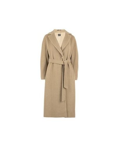 Бежевое пальто Cinzia Rocca