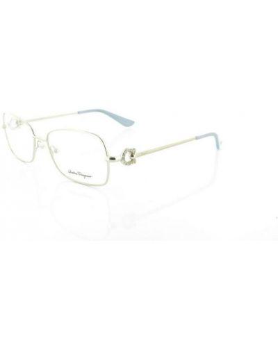 Szare okulary Salvatore Ferragamo