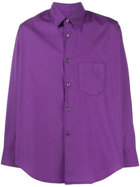 Koszula z długim rękawem fioletowy karmazynowy Our Legacy